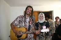 Michael Franti in the Middle East