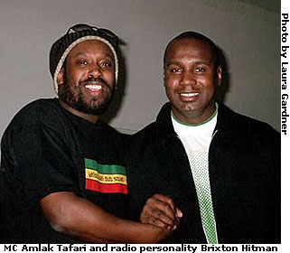 England's own Amlak Tafari and Brixton Hitman