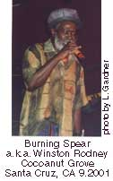 burning spear at cocoanut grove