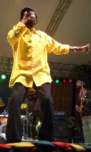 Beres Hammond at Western Consciousness 2005 photo by Claudette Brown