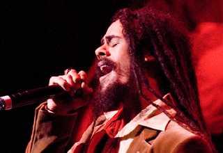 Damian Marley; photo by Lee Abel