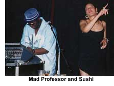 mad professor and sushi