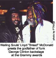 "lloyd ""bread"" mcdonald and george clinton"