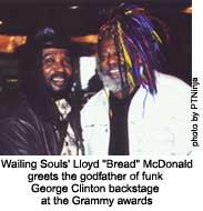 "lloyd ""bread"" mcdonald and george clinton"