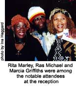 rita marley, ras michael, and marcia griffiths