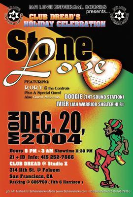Stone Love flyer